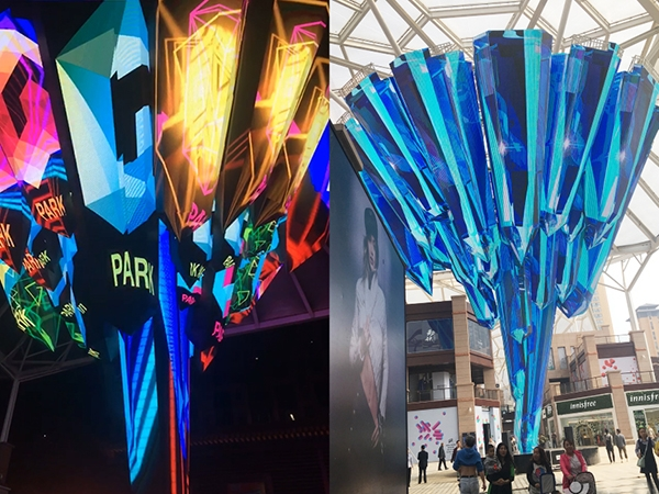 LED creative special-shaped display solution