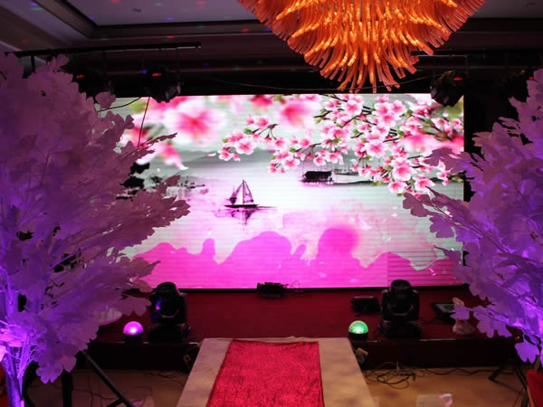 LED rental stage screen solution